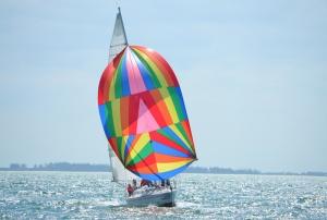 gulf-coast-sailing-club-spinnaker-sailboat